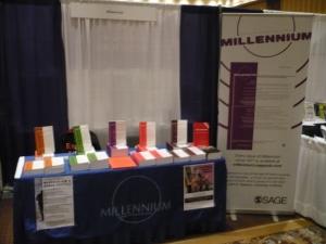 Millennium stall at ISA
